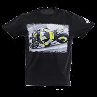 SECA T-SHIRT CABALA BLACK/FLUO
