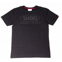 SHOEI T-SHIRT BLACK S