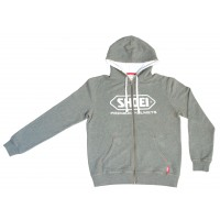 SHOEI ZIP HOODY GREY