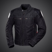 4SR Rowdie Denim Jacket Black