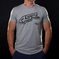 4SR T-shirt Logo Grey