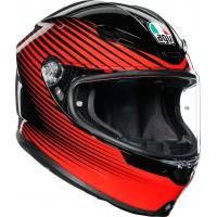 AGV K6 - RUSH BLACK/RED