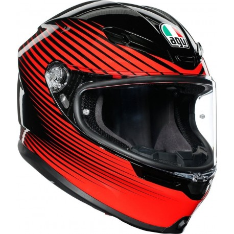 AGV K6 - RUSH BLACK/RED