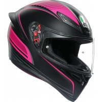 AGV K1 - WARMUP BLACK/PINK