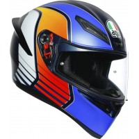 AGV K1 - POWER MATT DARK BLUE/ORANGE/WHITE