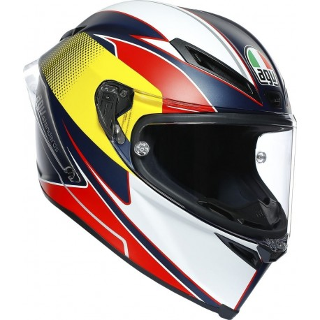 AGV CORSA R - SUPERSPORT BLUE/RED/YELLOW
