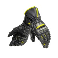 DAINESE FULL METAL 6 GLOVES BLACK/BLACK/YELLOW