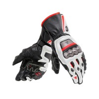 DAINESE FULL METAL 6 GLOVES BLACK/WHITE/RED