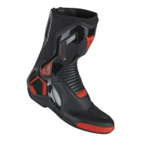 DAINESE COURSE D1 OUT BOOTS BLACK/FLUO-RED 39