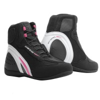 DAINESE MOTORSHOE D1 AIR LADY BLACK/WHITE/FUCSIA