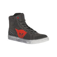DAINESE STREET BIKER AIR CARBON-DARK/RED