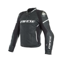 DAINESE D-AIR RACING 3 JACKET BLACK/BLACK/WHITE