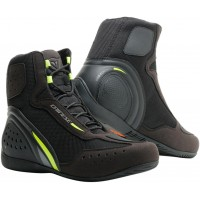 DAINESE MOTORSHOE D1 AIR BLACK/YELLOW/ANTHRACITE