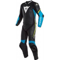DAINESE LAGUNA SECA 4 2PCS BLACK/BLUE/YELLOW