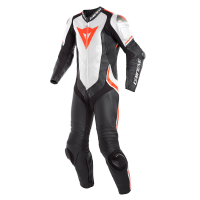 DAINESE LAGUNA SECA 4 1PC BLACK/WHITE/FLUO-RED