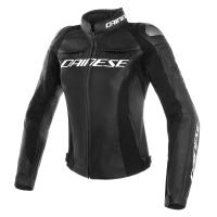 DAINESE RACING 3 JACKET LADY BLACK/BLACK/BLACK