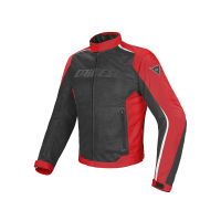 DAINESE HYDRA FLUX JACKET BLACK/RED/WHITE