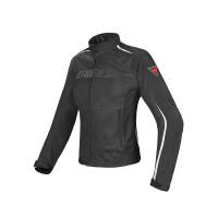 DAINESE HYDRA FLUX LADY JACKT BLACK/BLACK/WHITE