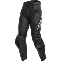DAINESE DELTA 3 LADY PANTS BLACK/BLACK/WHITE