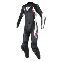 DAINESE AVRO D2 2PCS LADY BLACK/WHITE/FUXIA