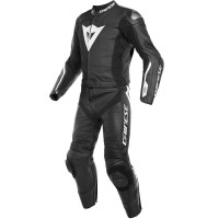 DAINESE AVRO D-AIR 2PCS BLACK/BLACK/WHITE