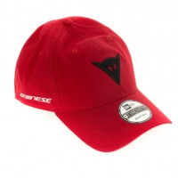 DAINESE 9FIFTY CANVAS STRAPBACK CAP RED