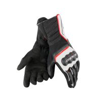 DAINESE AIR FAST GLOVES BLACK/WHITE/RED
