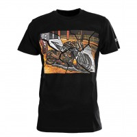 SECA T-SHIRT BRIDGE BLACK