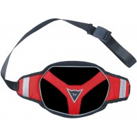 DAINESE EXCHANGE POUCH LARGE BLACK/BLACK/RED