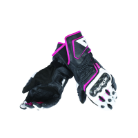 DAINESE CARBON D1 LONG LADY BLACK/WHITE/FUCHSIA M
