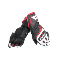 DAINESE CARBON D1 LONG BLACK/WHITE/LAVA-RED