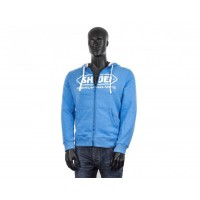 SHOEI ZIP HOODY BLUE S