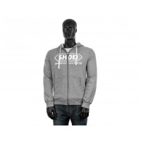 SHOEI ZIP HOODY GREY M