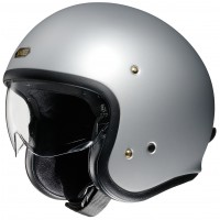 SHOEI J.O MATT LIGHT SILVER