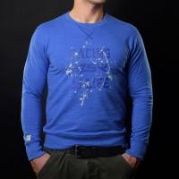 4SR Bluzka Life Blue