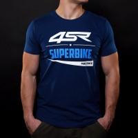 4SR T-shirt Superbike Blue