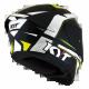 KYT TT-COURSE GRAND PRIX BLACK/YELLOW