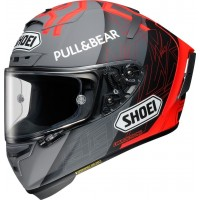 SHOEI X-SPIRIT III MARQUEZ BLACK CONCEPT 2.0 TC-1
