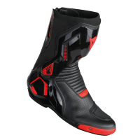 DAINESE COURSE D1 OUT AIR BOOTS BLACK/FLUO-RED