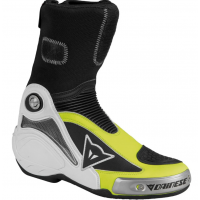 DAINESE R AXIAL PRO IN BOOTS BLACK/YELLOW-FLUO