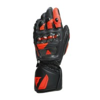 DAINESE DRUID 3 GLOVES BLACK/FLUO-RED