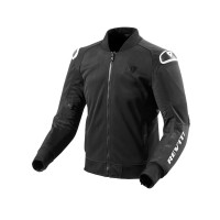 REVIT JACKET TRACTION BLACK/WHITE