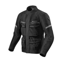 REVIT JACKET OUTBACK 3 BLACK/SILVER