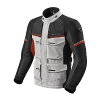 REVIT JACKET OUTBACK 3 SILVER/RED