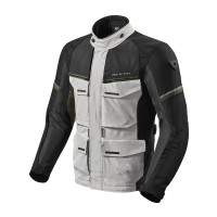 REVIT JACKET OUTBACK 3 SILVER/GREEN