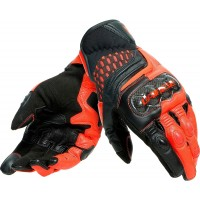 DAINESE CARBON 3 SHORT BLACK/FLUO-RED