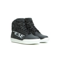 DAINESE YORK D-WP LADY SHOES DARK CARBON/WHITE