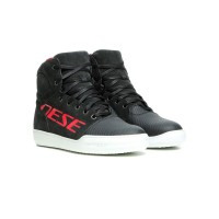 DAINESE YORK D-WP SHOES DARK CARBON/RED